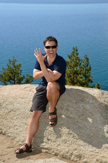 Shawn at Lake Tahoe