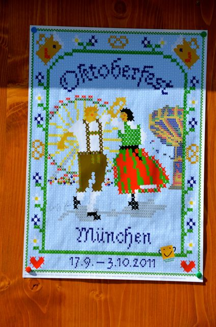 Oktoberfest in Munich Sign