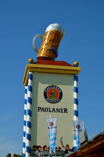 Oktoberfest Paulaner Tent