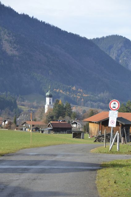 Oberammergau Mountain Scene
