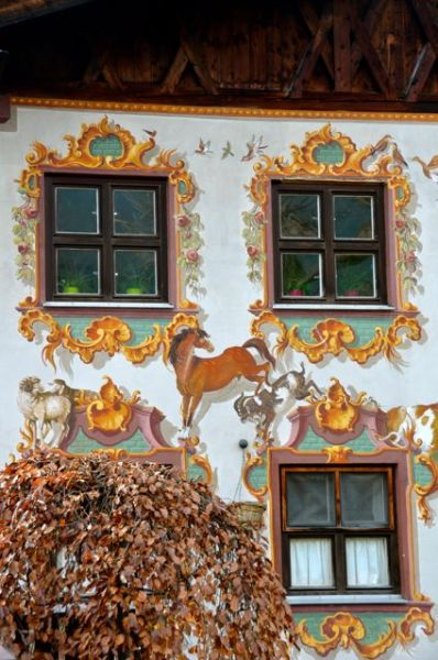Oberammergau Frescoes