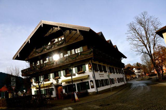 Oberammergau restaurant