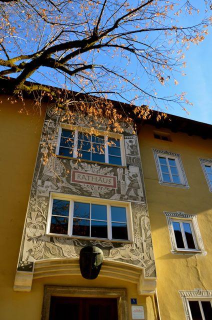 Oberammergau rathaus