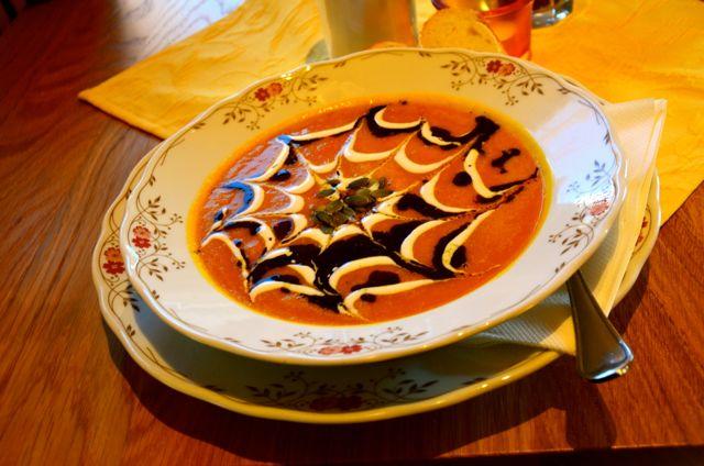 Gluten free soup in Oberammergau restaurant