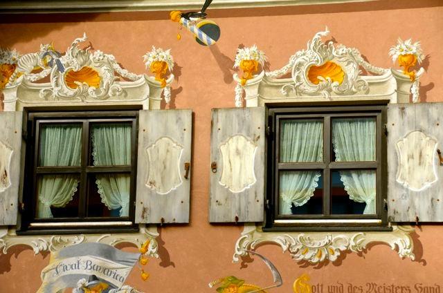 Oberammergau Lueftlmalerei