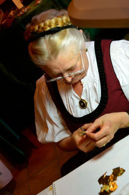 Artisan in Oberammergau Lebende Werkstatt Pilatushaus