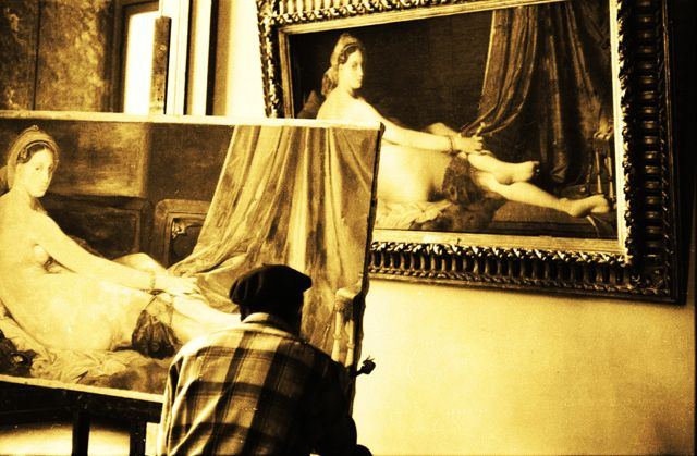 Louvre IV copyright Maurice Sapiro