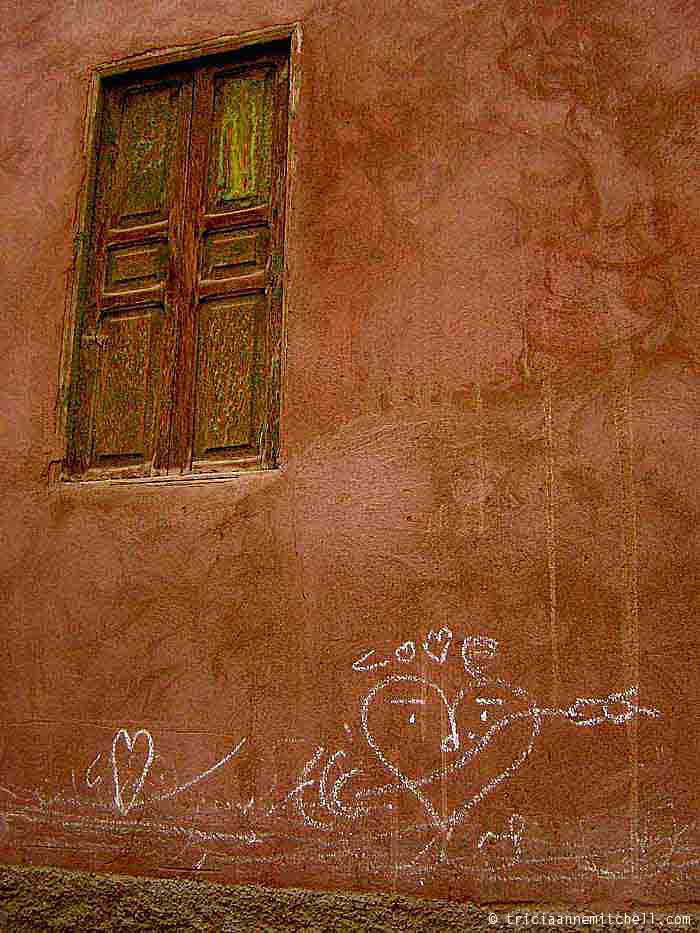 Marrakech Love on Wall