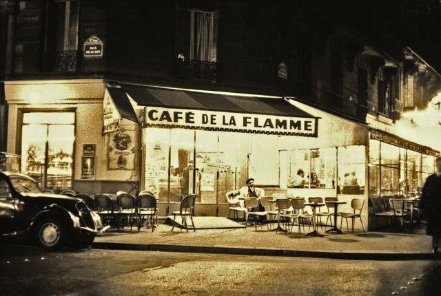 Paris Cafe de la Flamme copyright Maurice Sapiro
