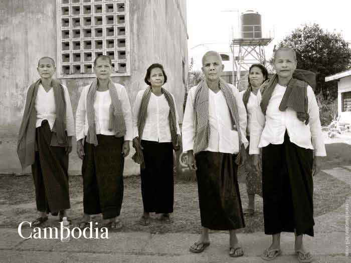 Cambodian-ladies