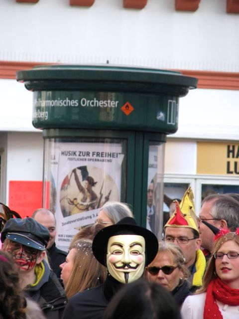 Fasching Parade in Heidelberg086