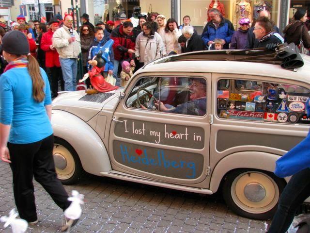 Fasching Parade in Heidelberg112
