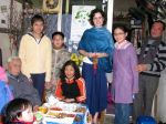 Vietnamese New Year celebration with family in Hanoi