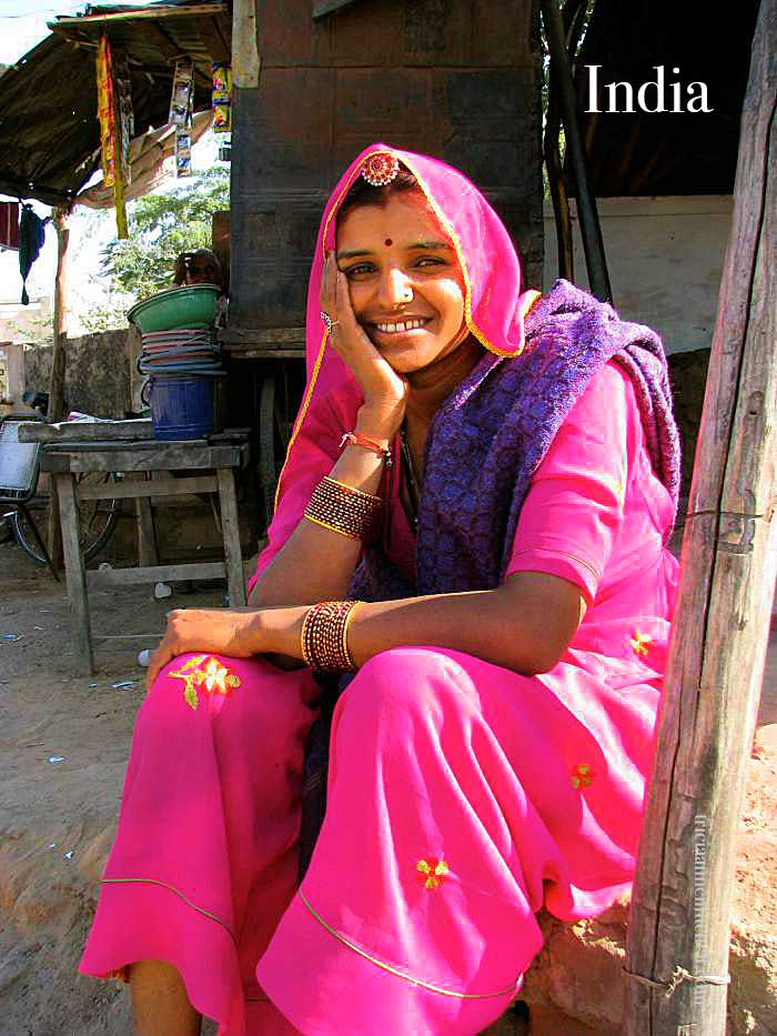 Woman-in-India