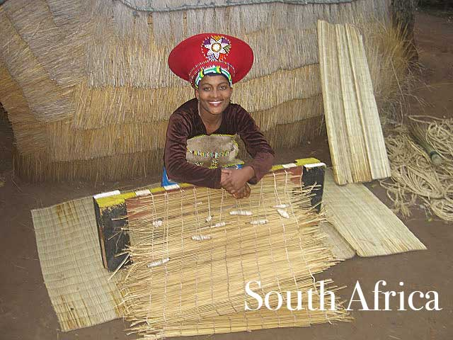 woman-in-lesedi-cultural-village-south-africa