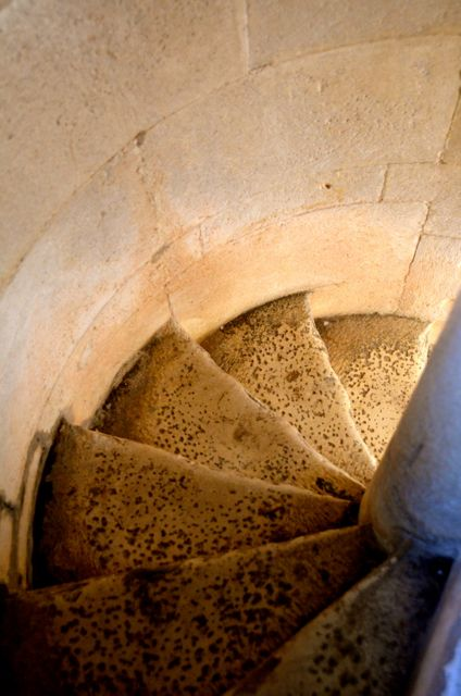cathedral stairwell