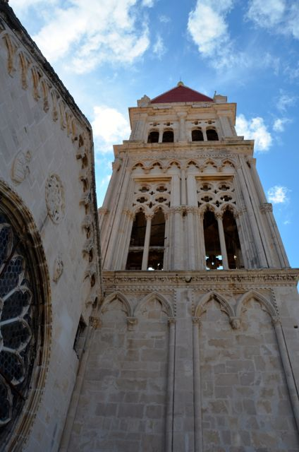 Trogir Bell Tower and Rose Window