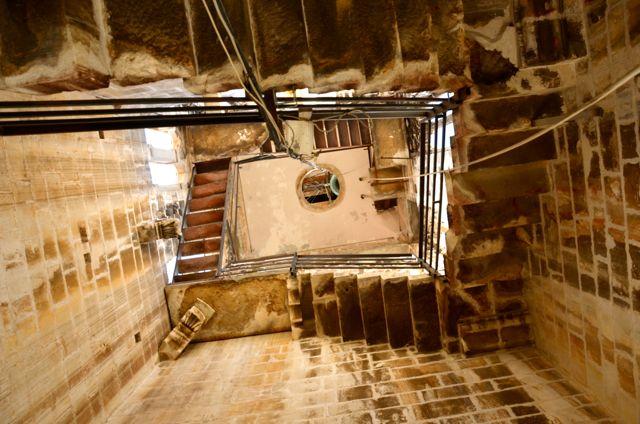 stairwell of Trogir belltower