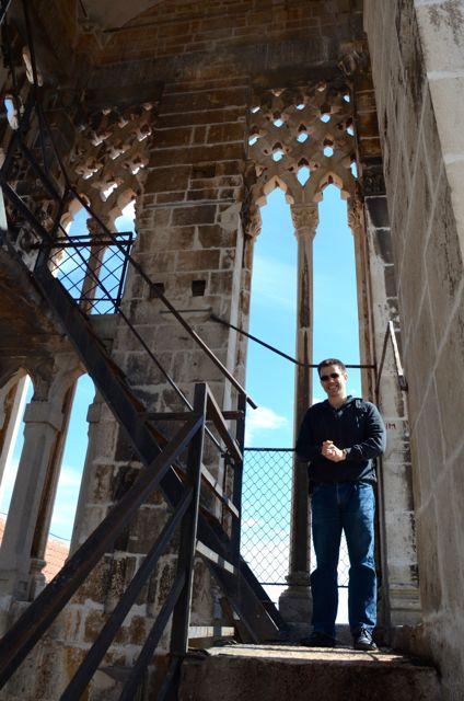 Trogir belltower stairwell