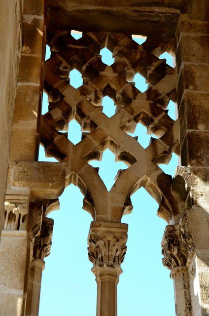 trogir belltower gothic architecture