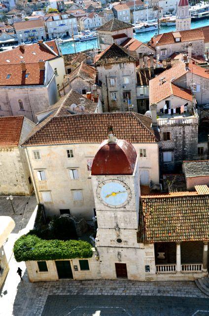 climbing trogir cathedral belltower29