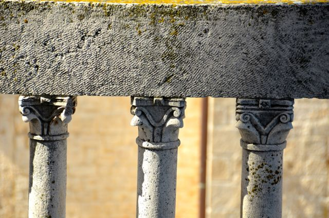 st. lawrence cathedral railing detail - croatia