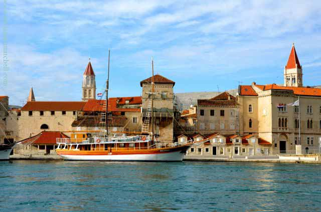 Trogir, croatia waterfront