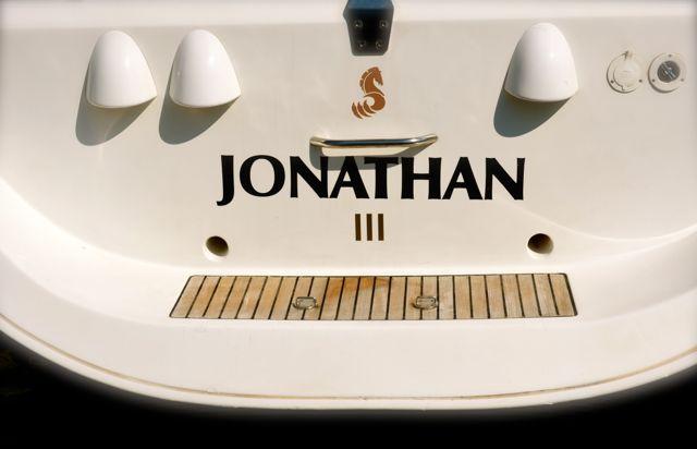 Jonathan sailing boat in Trogir, Croatia