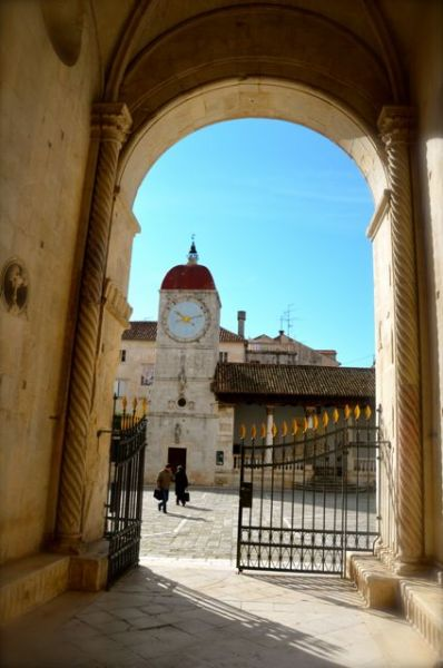 St. Lawrence Radovan Portal Trogir Croatia 1