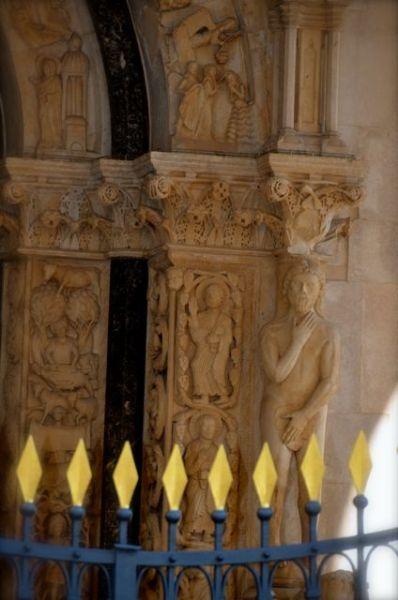 St. Lawrence Trogir Portal Radovan Croatia 12