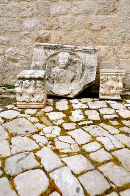 Trogir courtyard