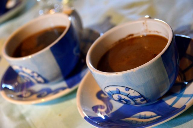 croatian coffee in cups