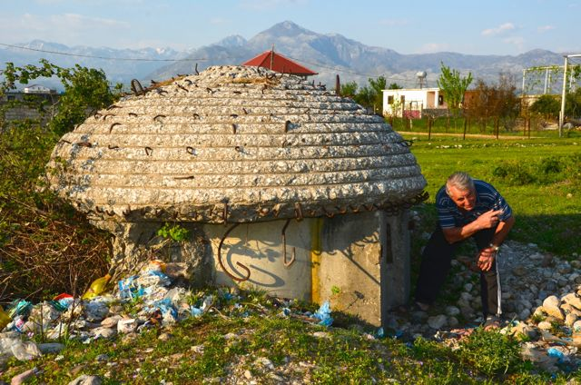 Unfortunately, Albania is littered with much garbage.