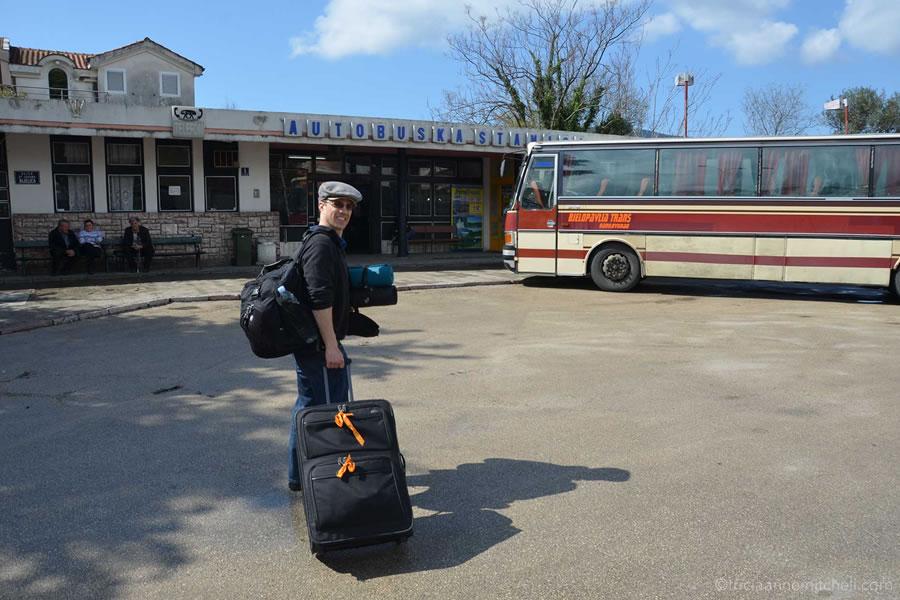 Autobuska stanica Herceg Novi Bus Station Montenegro