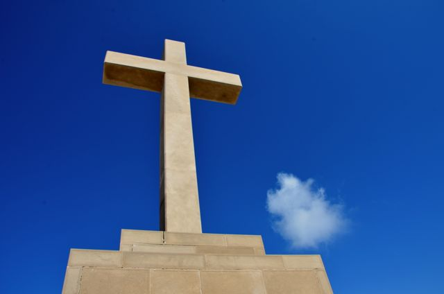 cross on mount srdj