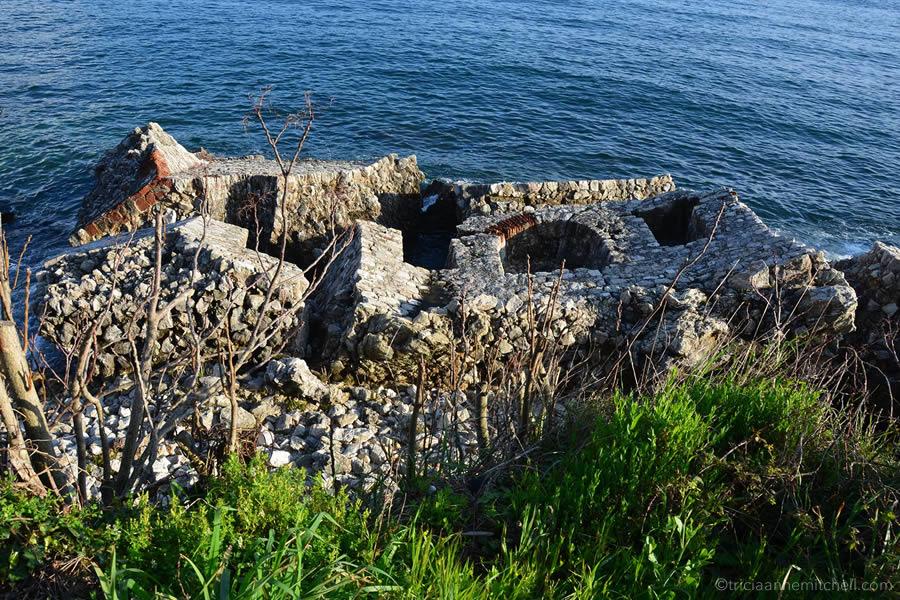 Herceg Novi Montenegro Ruins