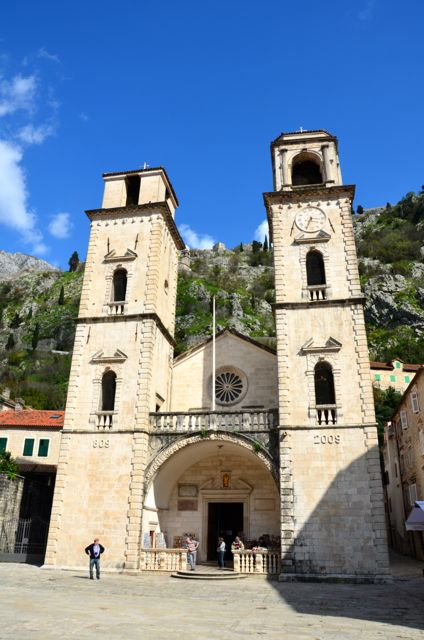 St. Tryphon's Cathedral in Kotor, Montenegro.