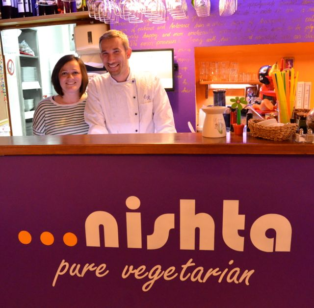Nishta owners, Rosa and Gil.