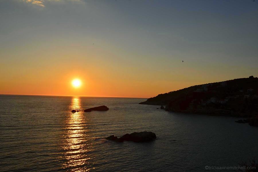 Ulcinj Montenegro sunset