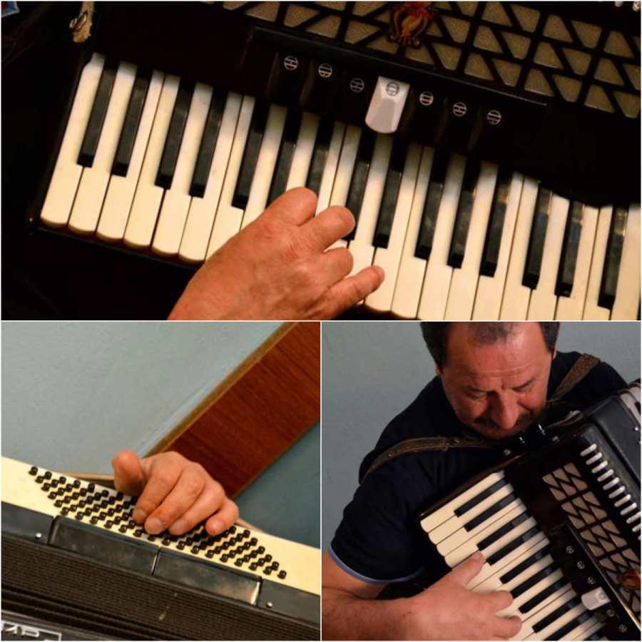 albanian accordionist collage 1