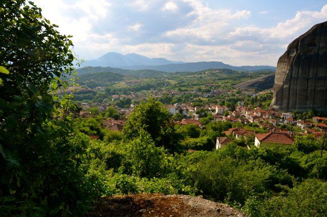 village of Kastraki, Greece