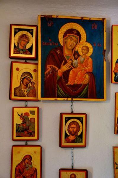 Byzantine icon workshop in Kastraki Dimitrios Moulas07