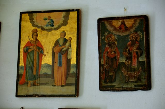 Byzantine icon workshop in Kastraki Dimitrios Moulas08