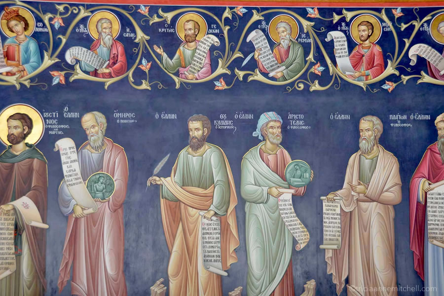 Great Meteoron Monastery paintings Greece