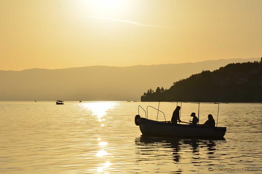 Ohrid-Macedonia-Saint John-Kaneo-Sunset-Silhouette