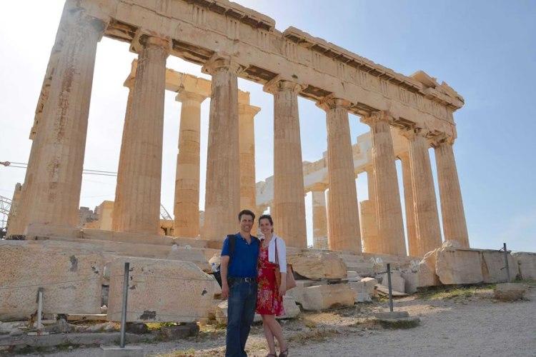 Parthenon Athens Greece Tricia Shawn