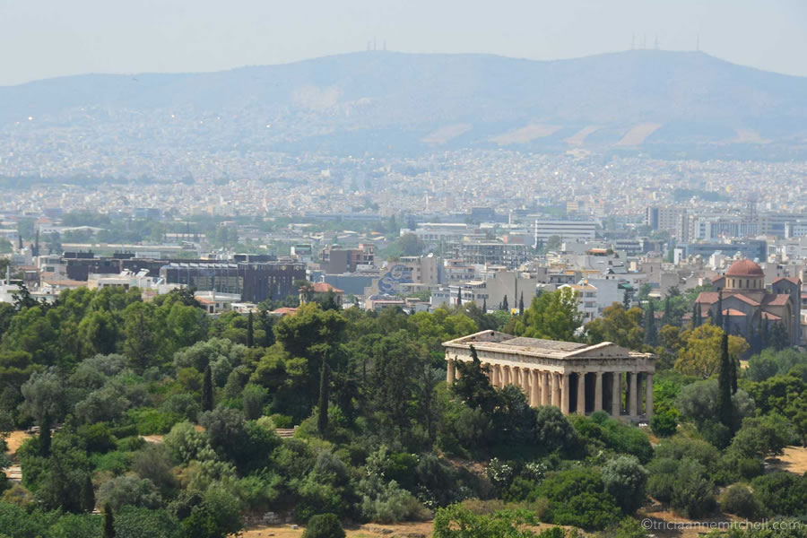 Temple of Hephaestus Agora Athens Greece