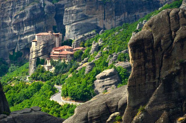 Meteora Monasteries Greece Visit Sunset Tour29