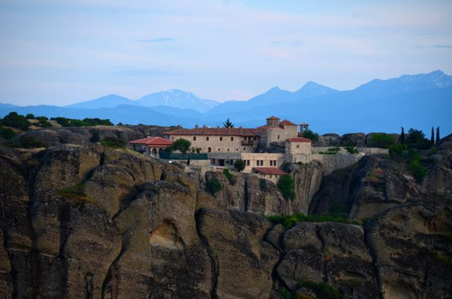 Meteora Monasteries Greece Visit Sunset Tour88