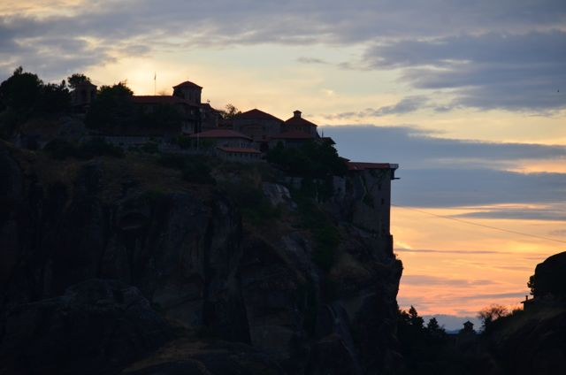 Meteora Monasteries Greece Visit Sunset Tour94